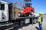 Moffett M8 55.4PL NX (Pantograph + Lift Assist® + 4-Way Control)
