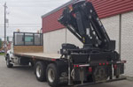 HIAB 410K Crane and Mack Truck Package