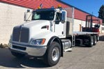 Moffett M8 55.3-10NX Forklift and Kenworth Truck For Sale
